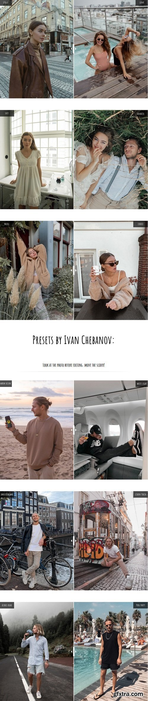 Daria Chebanova Presets