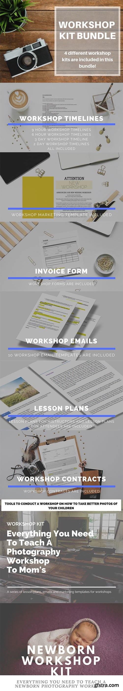 Workshop Kit Bundle | 4 Different Workshops - 1 Bundle!