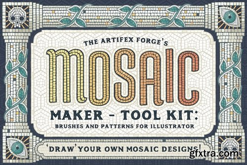 CM - Mosaic Maker - Brushes & Patterns 2738367