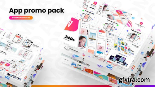 VideoHive App Promo Pack 23816110