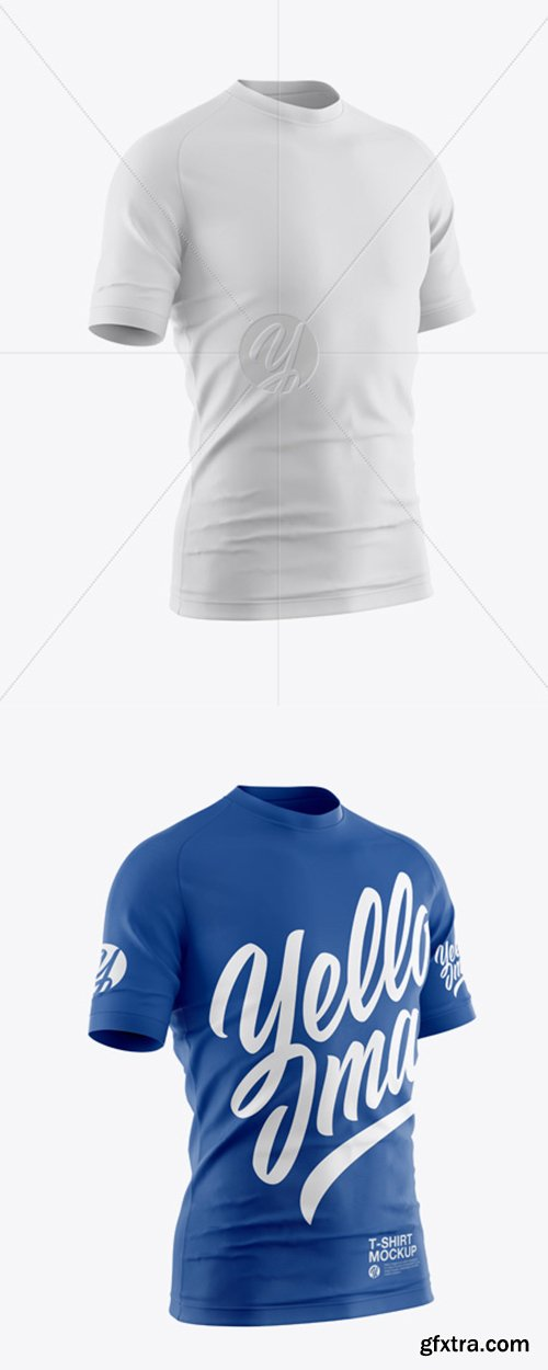 Men's T-Shirt Mockup 40826