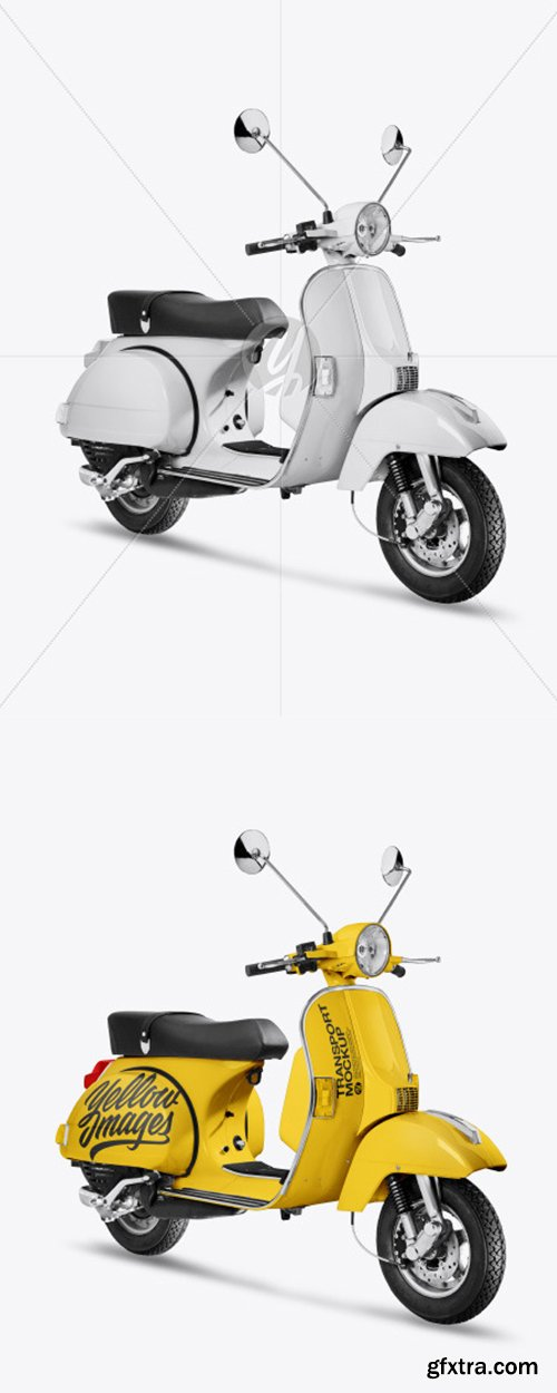 Scooter Mockup 44572