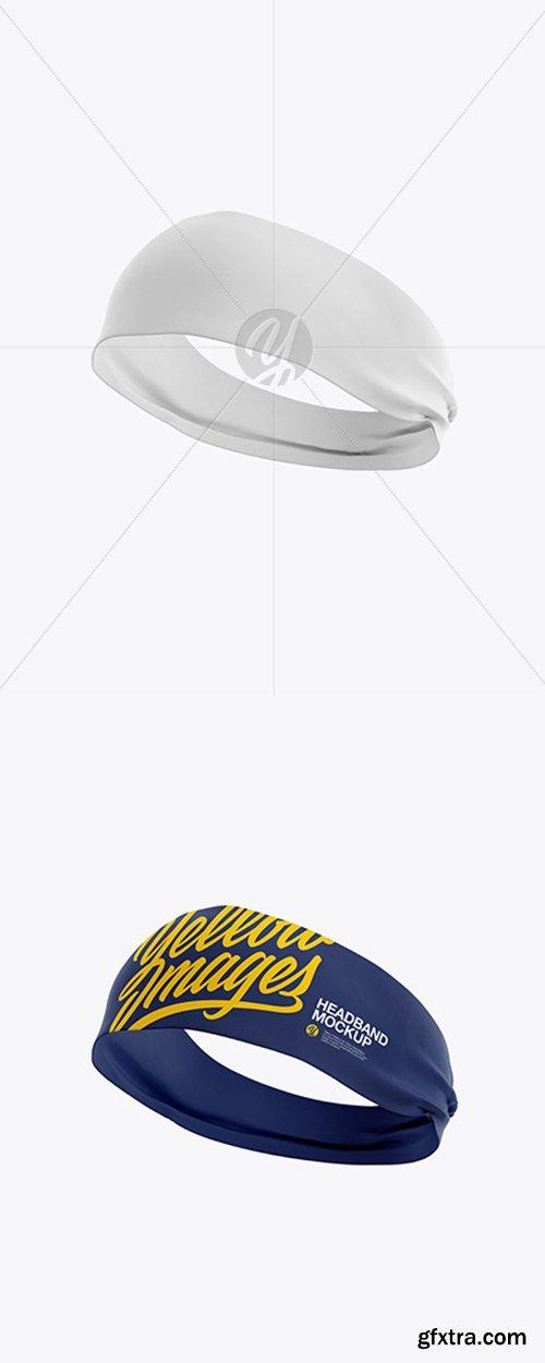 Headband Mockup - Half Side View 20223