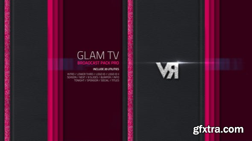 VideoHive Glam TV - Broadcast Pack Pro 5311080