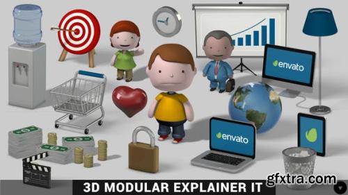 VideoHive 3D Modular Explainer Kit 9286580