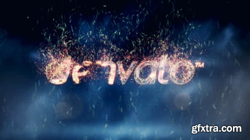 VideoHive Fire Logo Reveal 3839322