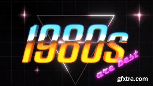 VideoHive 80S Logo Intro 23935734