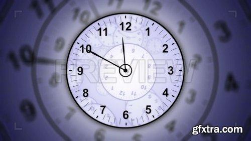 12-Hour Run Clocks Background 209341