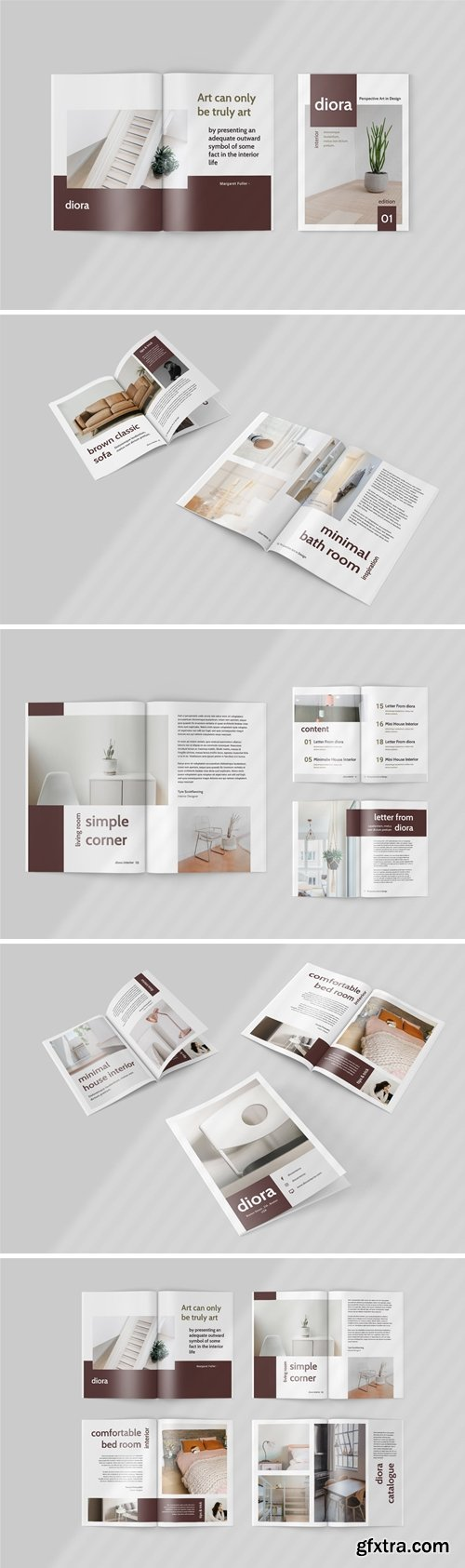 Diora - Furniture Magazine Template