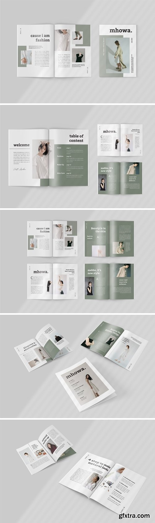Mhowa - Fashion Lookbook Template