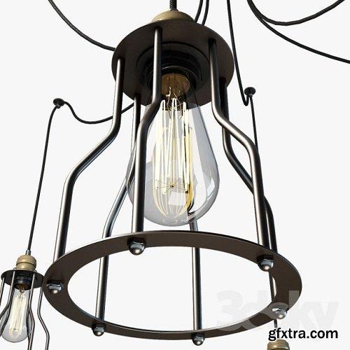 Ceiling Light Lussole LOFT LSP-9310