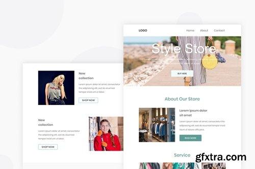 Women Cloths - Email Newsletter