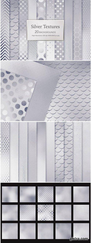 Silver Textures 1503252