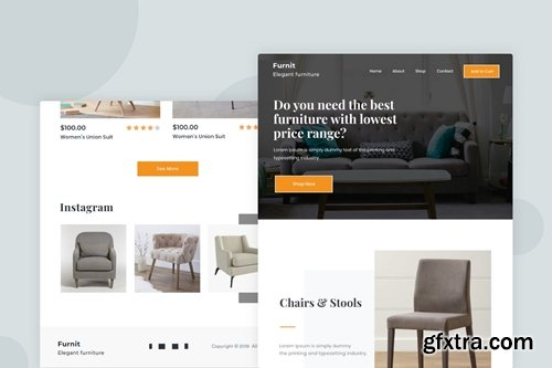 Furniture - Email Newsletter