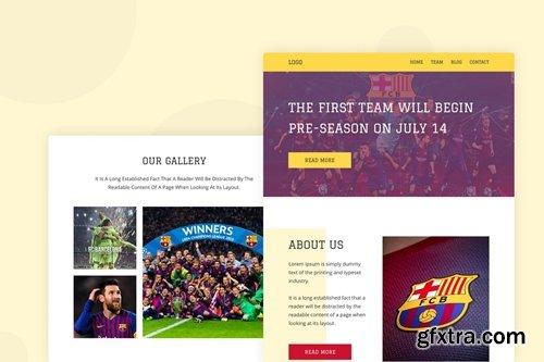Football - Email Newsletter