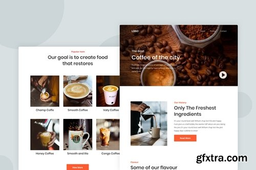 Coffee shop - Email Newsletter