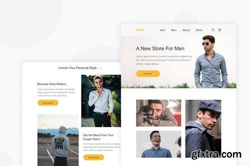 Men Cloths - Email Newsletter