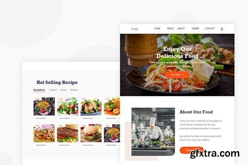 Food Banner - Email Newsletter