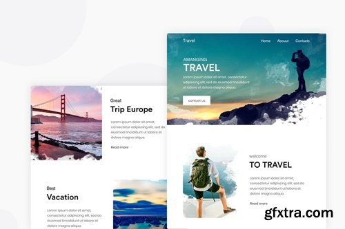 Travel Vacation - Email Newsletter