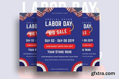 Independence and Labor Day Flyers