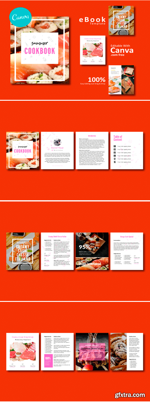 Recipe EBook Canva Template 1506211