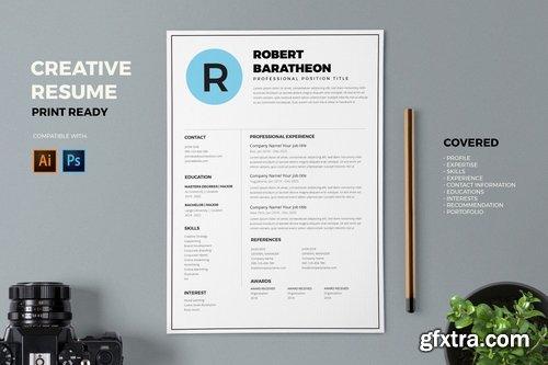 Resume CV Template Pro