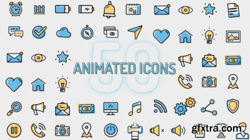 VideoHive Flat Animated Icons 1349666