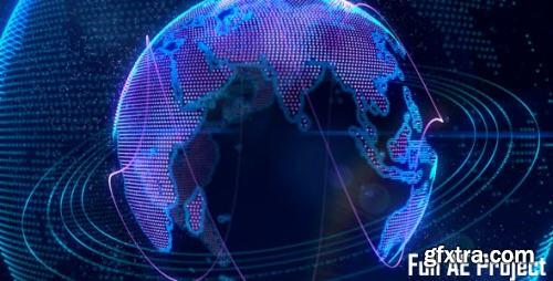 VideoHive Cyber Earth 3589211