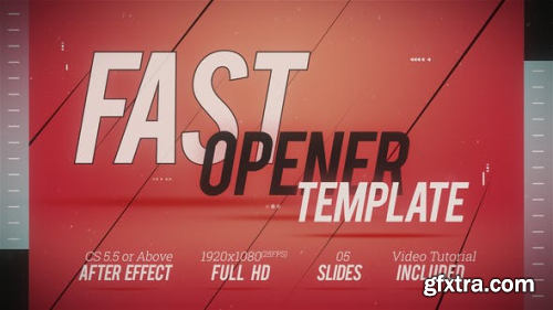 VideoHive Fast Opener Template 2 22605302