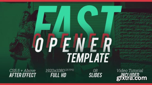 VideoHive Fast Opener Template 22551141