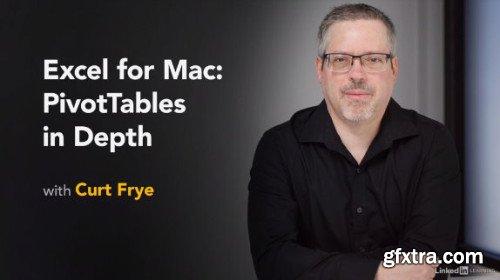 Lynda - Excel for Mac: PivotTables in Depth
