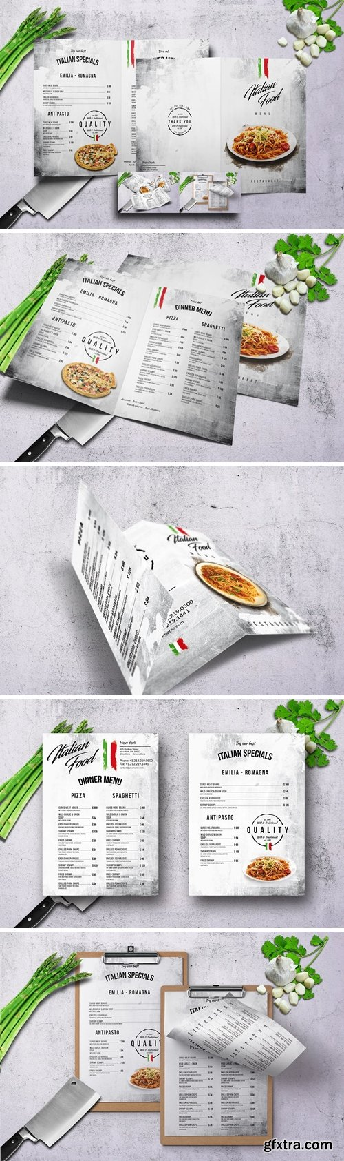 Italian Food Menu Bundle V2