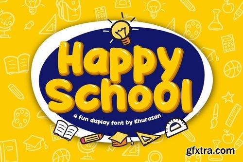 Happy School Font