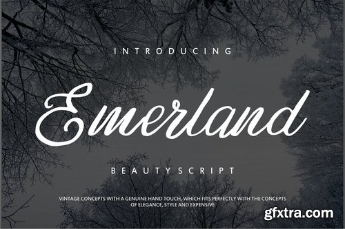 Emerland | Beauty Script Handwritten