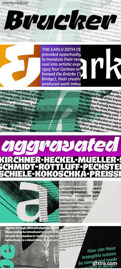 Brucker Font Family
