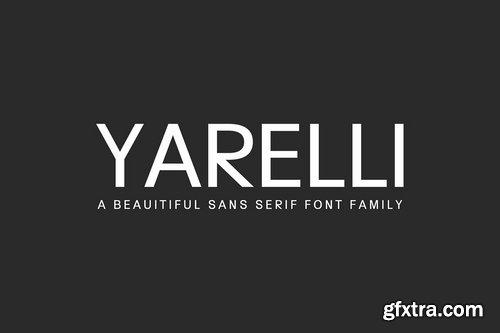 CM - Yarelli Sans Serif Font Family 3872003