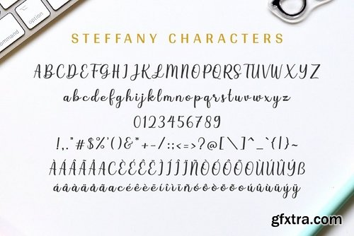 CM - Steffany - Handwriting Font 3872049