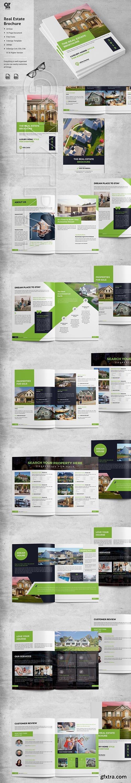 CreativeMarket - Real Estate Brochure 3861835