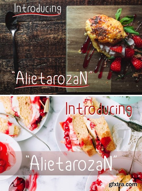 Alietarozan Font