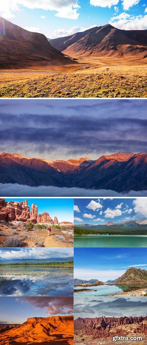 Stock Photos - Beatiful Mountains