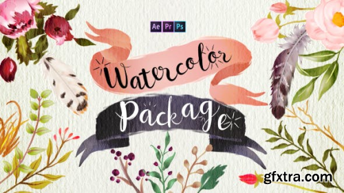 Videohive Handwriting Watercolor Package 18031845