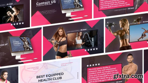 Videohive SPORT: Fitness and Workout Sport Gym Promo 23921098