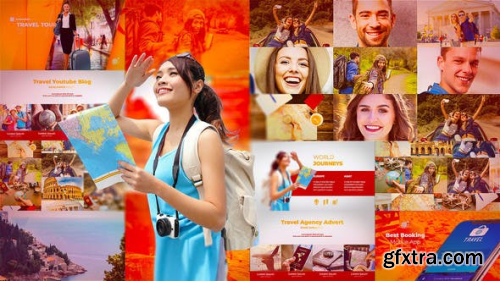 Videohive Travel Booking Promo 23093032