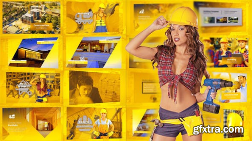 Videohive Construction Presentation - Building Promo 23079196