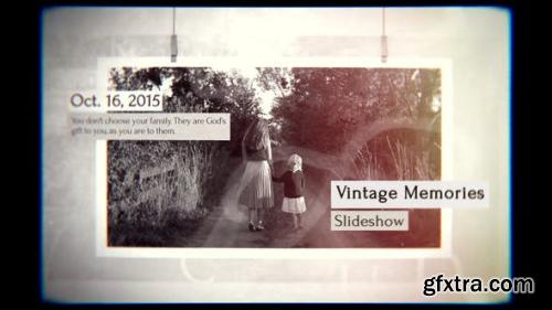 VideoHive Vintage Memories Slideshow 23354348