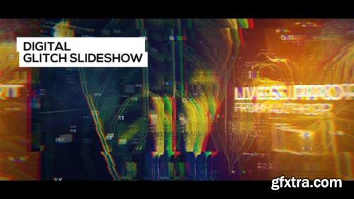 VideoHive Digital Glitch Slideshow 23461939