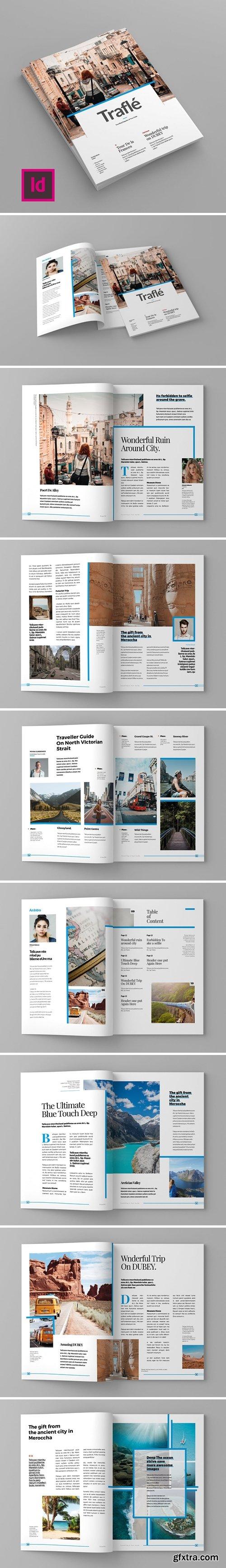 Trafle - Magazine Template