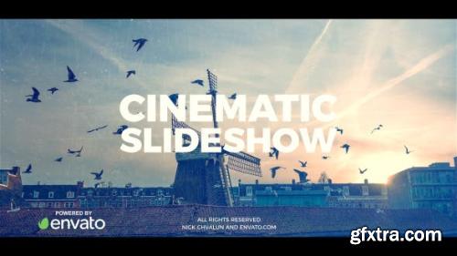 VideoHive Cinematic Slideshow 20789588
