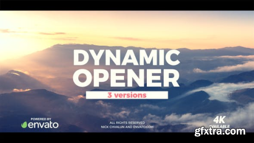VideoHive Dynamic Opener 20710281