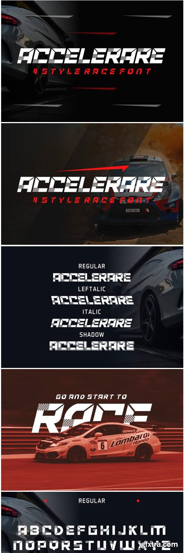 Accelerare Font